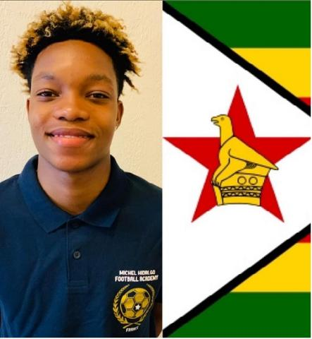 19 September 2020 : Welcome to Nathan, player of Zimbabwe U18 football national team, who joins the Academy to reach his own sports objectives and to learn French